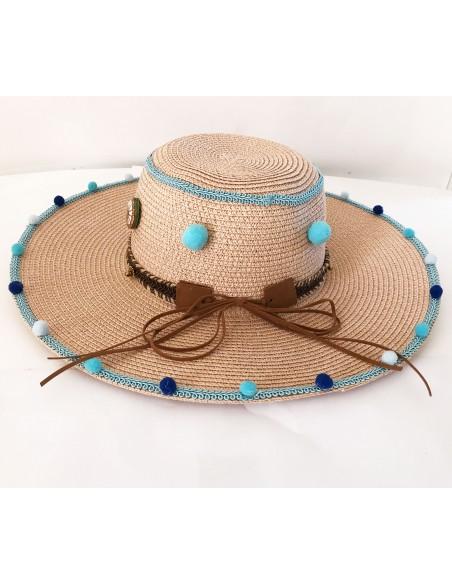 cappello mare in paglia  Made in Sicily