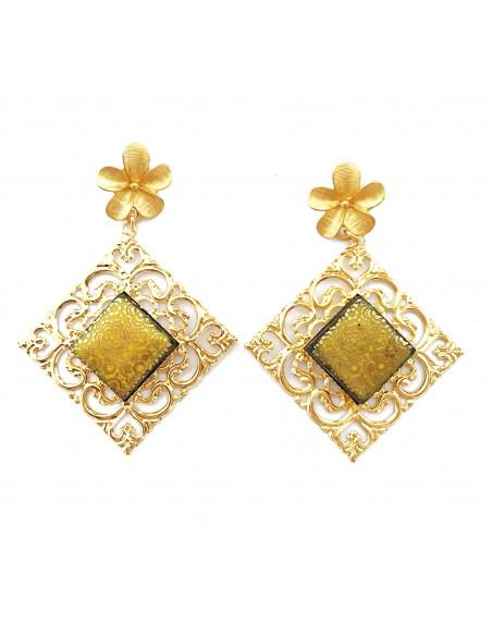 orecchini donna pendenti - orecchini siciliani