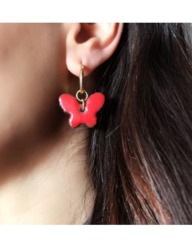 orecchini siciliani in pietra lavica dell'Etna