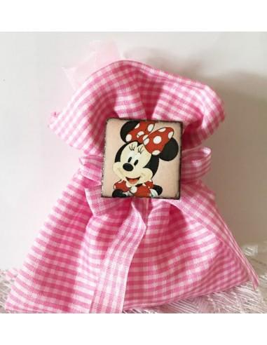 bomboniera bambina Minnie , bomboniera calamita Minnie - bomboniera Minnie Disney